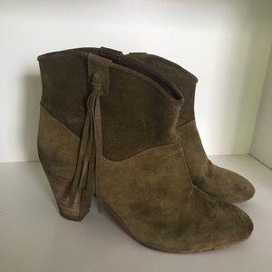 Maje Fringe Boots